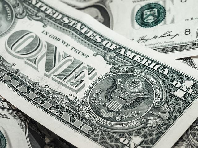 セレブリティクルーズ・ドル紙幣