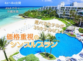 ANA/沖縄価格重視プラン2019