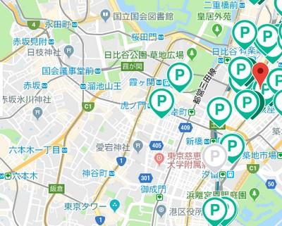 特P・アキッパ比較/銀座ー赤坂