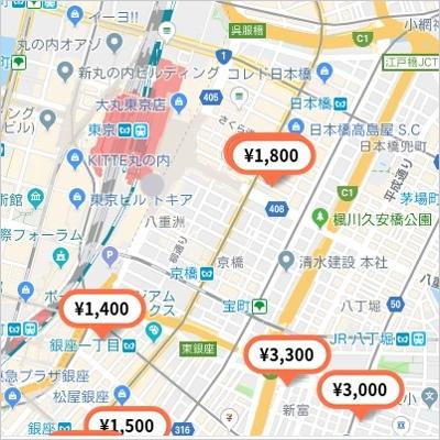 特P・東京駅周辺・特Pのみ