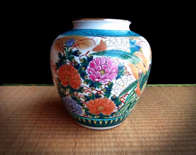 美術品・九谷焼の壺