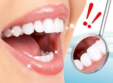 マウスウォッシュ・白い歯・女性
