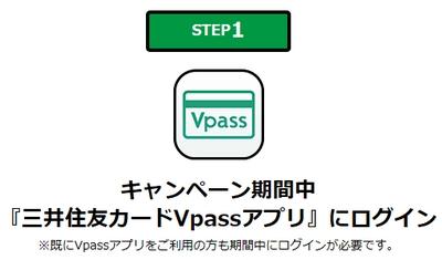 三井住友VISAカード・VPASSキャンペーン