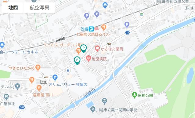 特P/川越市笠幡駅周辺