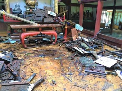 CAMPFIRE・台風15号被害・千葉県清光寺②
