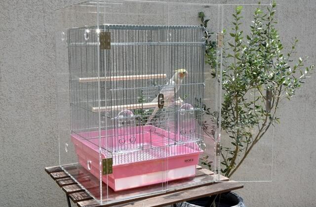 アクリル工房・鳥用ケージ