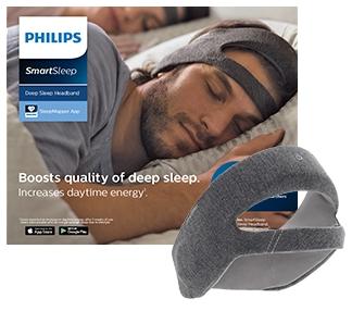 フィリップス・SmartSleep-ディープスリープ-ヘッドバンド