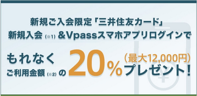 三井住友カード・Vpassキャンペーン